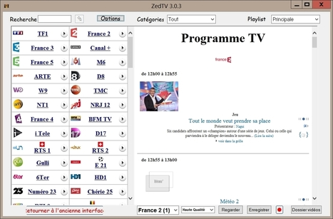 Télévision PC : Molotov vs ZedTV | Informatique | Scoop.it