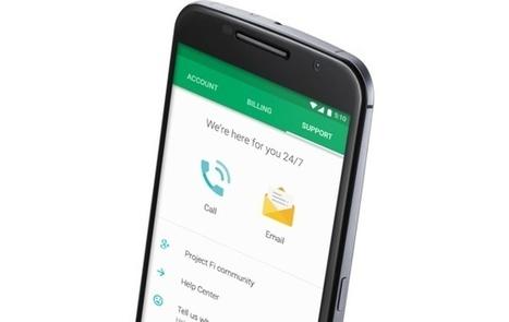 Google se lance officiellement comme opérateur et dévoile son forfait modulable | Tout le web | Scoop.it