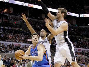 Com Splitter, Spurs vencem 1º jogo da decisão da conferência oeste | esportes | Scoop.it