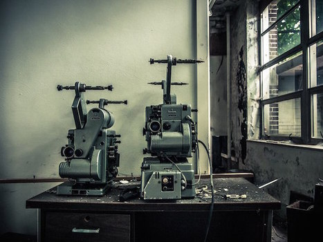 Urbex Photographer Comes Across Abandoned Film School | Urban Decay Photography | Scoop.it