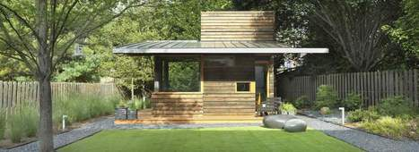 A backyard writing studio | Dencity Design | Idées d'Architecture | Scoop.it