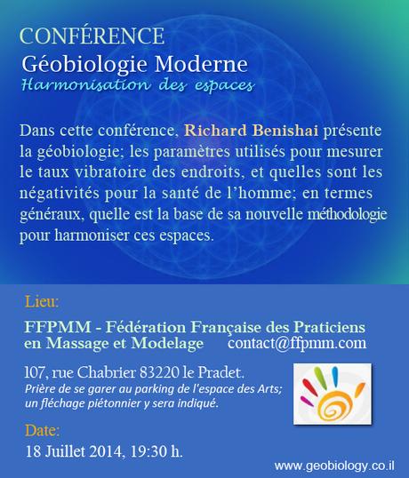 Stage ggéobiologie harmonisation, protection contre les entités et énergies négatives - Le Pradet près de Toulon VAR - Institut LING DAO   Massage Formation   Scoop.it