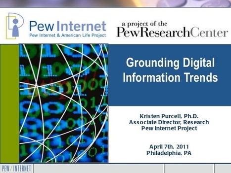 Museums and the Web: Grounding Digital Information Trends | Types of Digital Information we encounter. | Scoop.it