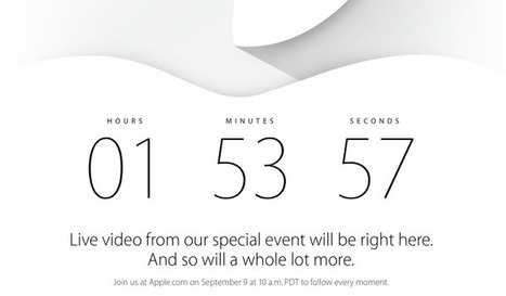 iPhone 6 Launch Live Streaming: Here's How & Where | Latest Tech & iOS Gadgets Updates | Scoop.it