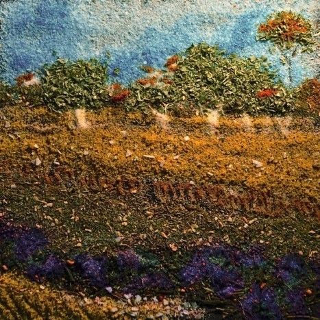 Talented Artist Recreates van Gogh Paintings with Spices and Food Coloring   Strange days indeed...   Scoop.it