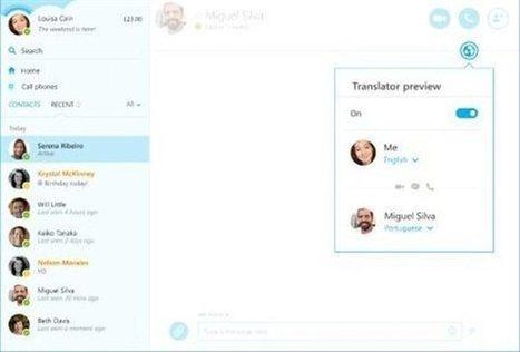 Το Skype αναλαμβάνει τη μετάφραση ομιλίας σε επτά γλώσσες | apps for libraries | Scoop.it