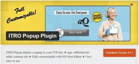 Top Plugins gratuitos de WordPress: El 'Top 5′ de Julio | Web Màrqueting | Scoop.it