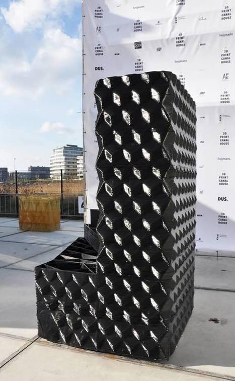 KamerMaker : L'imprimante 3D géante qui imprime des maisons | Semageek | La vie vue de l'exterieur | Scoop.it