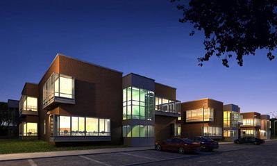 Immeuble de nuit en 3D   3D Library   Scoop.it