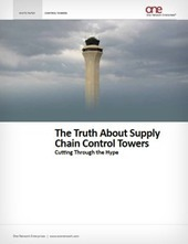 Supply Chain Control Towers: The Truth | Supply Chain | Scoop.it