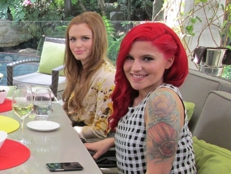 Grab Brunch With Some Of MTV's Finest Ladies Before The Movie Awards! | Holland Roden | Scoop.it