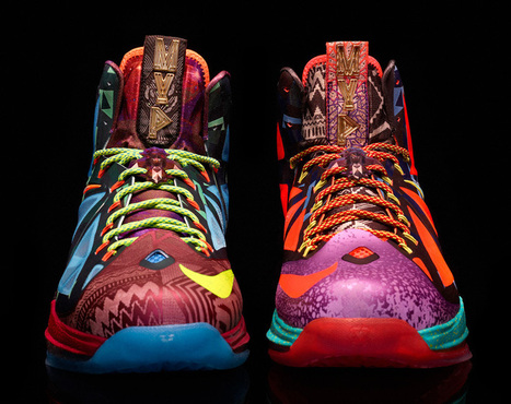 NIKE lebron x MVP shoe #inspiredbydesign | 3D Design | Scoop.it