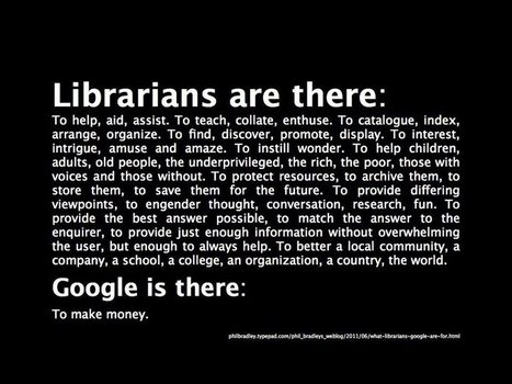 Librarians are there...   Advocating for School Libraries   Scoop.it