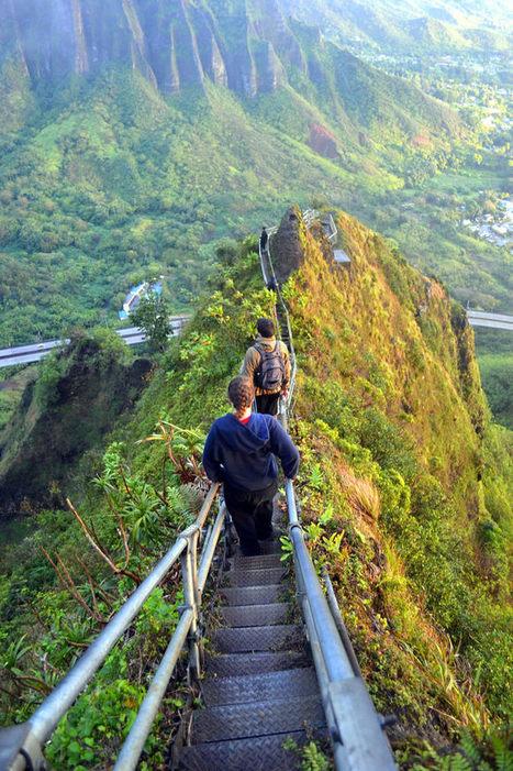 Stairway to Heaven   ❀ hawaiibuzz ❀   Scoop.it