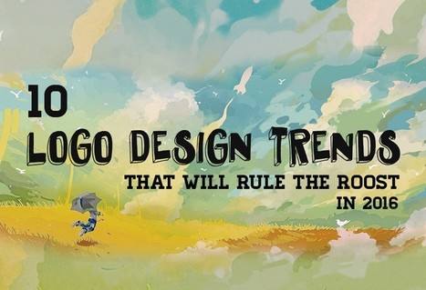 10 Logo Design Trends That Will Rule The Roost In 2016 | Inspired By Design | Scoop.it