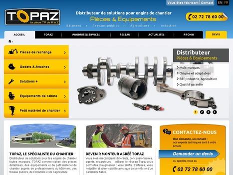Topaz Pro - Matériels pour le BTP : www.topaz-pro.com | Le Spécialiste des pièces détachées pour engins TP | Scoop.it