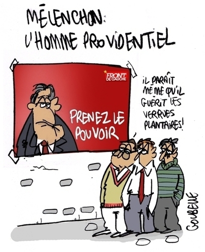 Mélenchon, l'homme providentiel | CRAKKS | Scoop.it