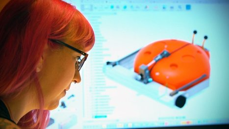 Lisa Winter Goes Back to Her Maker Roots on BattleBots | Make: | Heron | Scoop.it