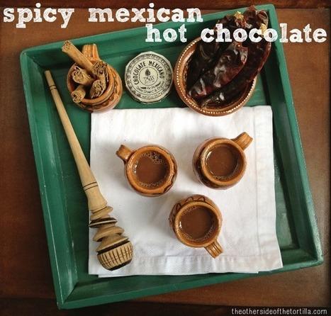 Spicy Mexican Hot Chocolate | comida | Scoop.it