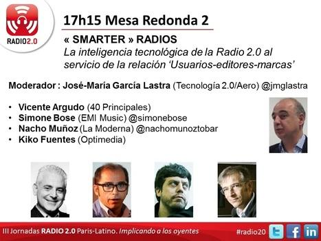 """""""SMARTER"""" RADIOS : La inteligencia tecnológica de la Radio 2.0 al servicio de la relación 'Usuarios-editores-marcas'   Radio 2.0 Madrid (30 Oct)   Radio 2.0 (Esp)   Scoop.it"""
