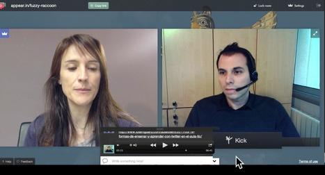 Appear.in: útil herramienta para iniciar una videoconferencia en segundos | eduhackers.org | Scoop.it