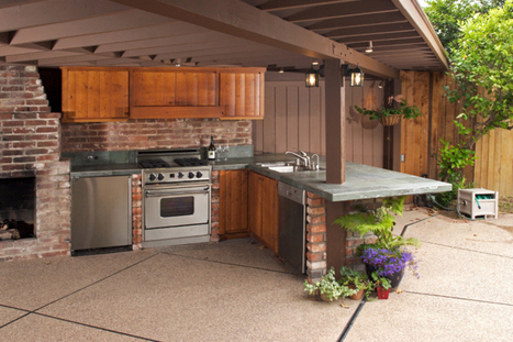 Tips on What Materials to Use for an Exterior Kitchen | H2 Design and Development Corp | Scoop.it