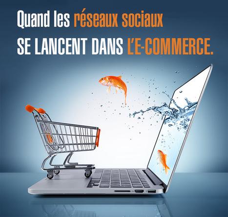 Quand les réseaux sociaux se lancent dans l'e-commerce | Community Manager Online | Colis Privé | Scoop.it