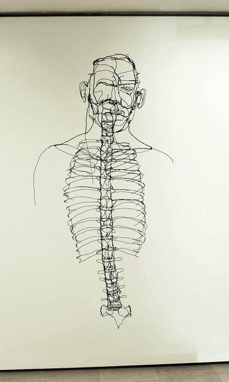 Scribbled Wire Sculptures by David Oliveira   Design buzz buzz   Scoop.it