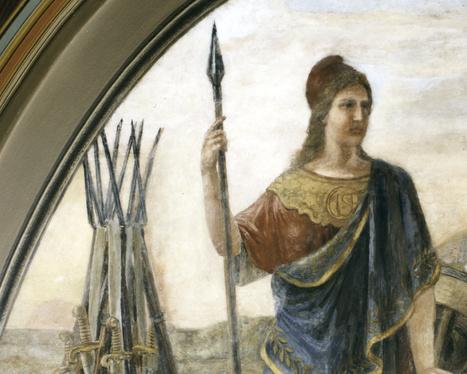Nerio,diosa de la guerra y la personificación de la valentía. | Dioses De Roma | Scoop.it