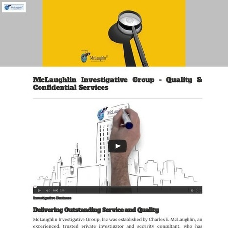 McLaughlin Investigative Group - Quality & Confidential Services | LAW | Scoop.it