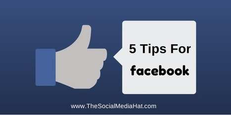 Face Value: 5 Tips for a Share-worthy Company Facebook Page | The Content Marketing Hat | Scoop.it