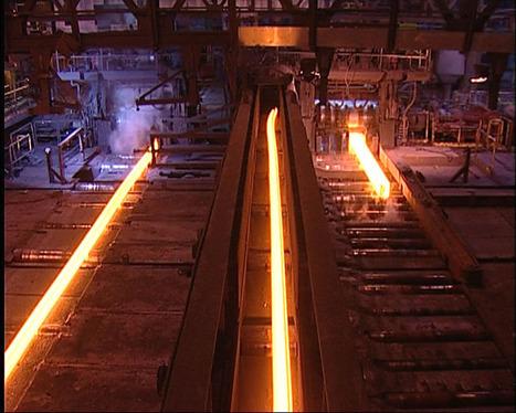 Des rails de 108 mètres pour Tata Steel Hayange | Moselle | Lorraine | Régivision.net | Au coeur des entreprises lorraines (vidéo) | Scoop.it