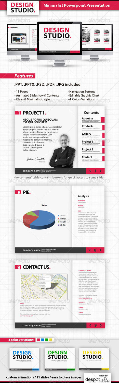10 Best PowerPoint Templates for Branding your Products | iBrandStudio | Reputation, Resume, Rolodex | Scoop.it