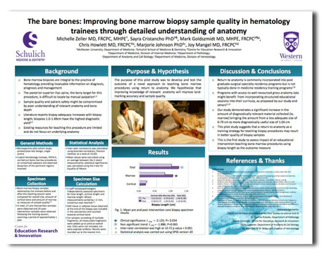 The bare bones: Improving bone marrow biopsy sample quality in hematology trainees through detailed understanding of anatomy | CME-CPD | Scoop.it
