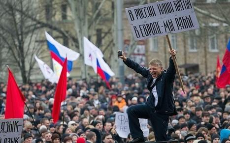 Ukraine as it happened: Urgent calls for calm as West faces biggest ... - Telegraph.co.uk | Ukrainia | Scoop.it