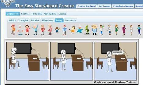 Storyboard That, una sencilla aplicación web para crear tiras cómicas   Tic, Tac... y un poquito más   Scoop.it