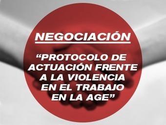 Negociación del Protocolo de Actuación frente a la violencia en el trabajo en la AGE | Formateate.net | Scoop.it