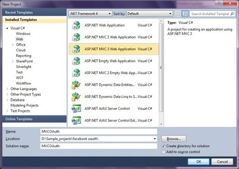 Simple .NET MVC 3 web application with integrated Facebook OAuth API - CodeProject® | AspNet MVC | Scoop.it