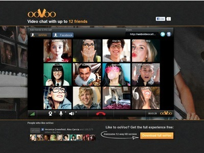Free Videoconference For Up To 12 People with the New ooVoo for Facebook | ICT Resources for Teachers | Scoop.it