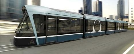 Alstom and Qatar Rail unveil the design of Lusail Citadis tram   EricJ 's Railway Topics   Scoop.it