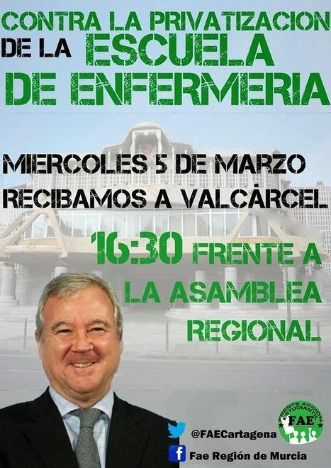Despedida cartagenera a Valcárcel en la Asamblea Regional - Se va el caimán | Bruno Jordán | Scoop.it