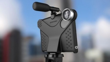 Makayama Movie Mount turns the iPad into a video camera | iPads and Mobile Learning in Higher Education | Scoop.it