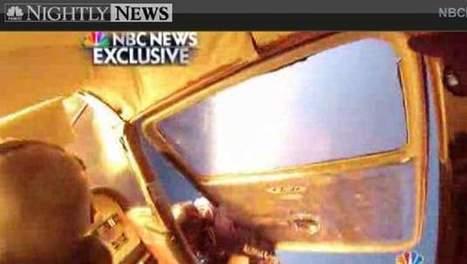Spectaculaire beelden: skydivers springen uit brandend vliegtuig na crash | actua sibel | Scoop.it