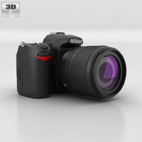 3D model of Nikon D7000   3D models   Scoop.it
