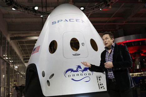 Google Is Close to Investing $1 Billion in Musk's SpaceX | digital mentalist  and cool innovations | Scoop.it