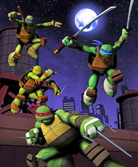 Finding The Core Of A Story: How The Teenage Mutant Ninja Turtles Are Evolving For a Multi-Platform World | Transmedia Landscapes | Scoop.it
