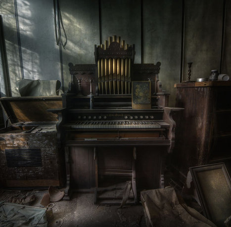 Hauntingly Beautiful Abandoned Europe: Meet Urbex Master Andre Govia | Travel & tourism | Scoop.it