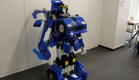Japanese Engineers Create Real Life Transformer That Turns From A Robot Into A Car! [Video] - Breaking news around the worldBreaking news around the world   Heron   Scoop.it