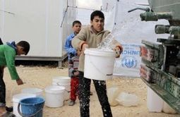 Tackling Water Issues in Refugee Camps | Healthy Waters | Scoop.it