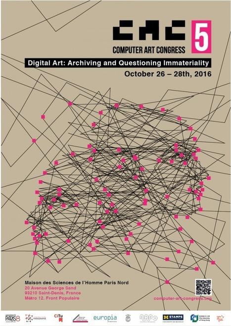 26>28.10 - Computer Art Congress 2016 [CAC.5] -Keynote speakers: Bernard Stiegler & Lev Manovich | Digital #MediaArt(s) Numérique(s) | Scoop.it
